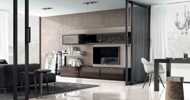 Armarios Diseno Salon - Ref: COM013