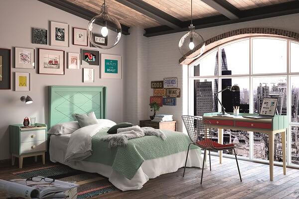 Cama Moderna Dormitorio Juvenil - Ref: DORJ018