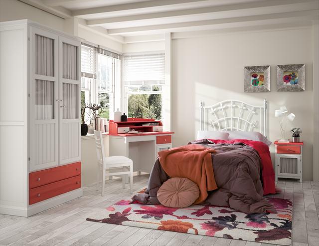 Camas Tradicionales Dormitorios Juveniles - Ref: DORJ023