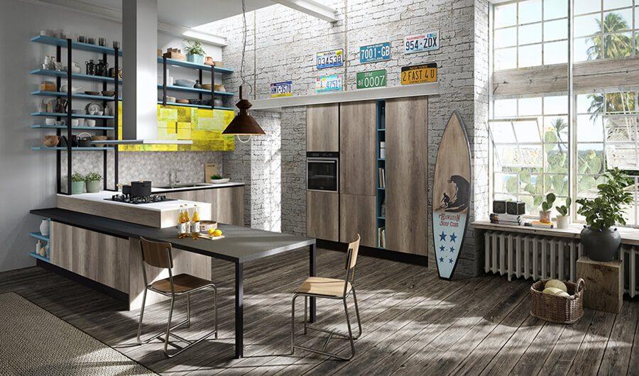 Cocina moderna - Ref: CO27