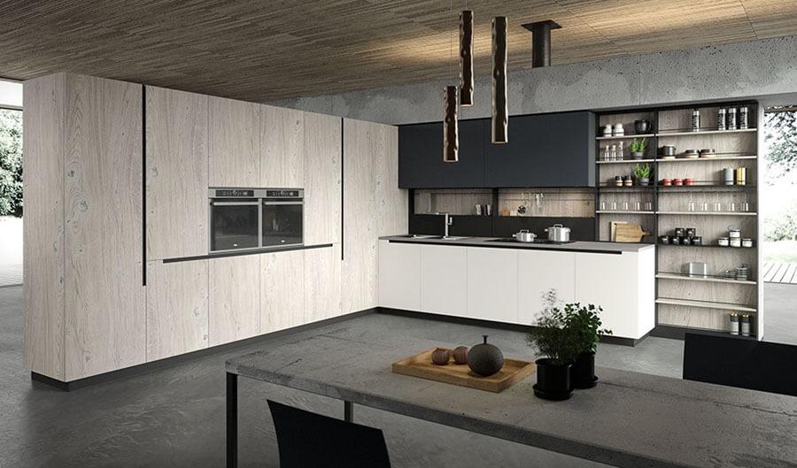 Cocinas Modernas en Catálogo - Ref: CO18