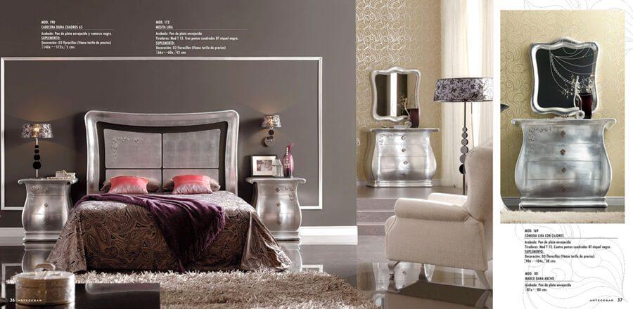Decoración de Habitaciones de Matrimonio de Diseño - Ref: DORMM030
