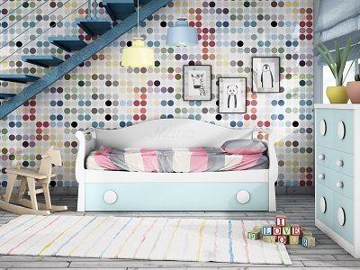 Decoracion Habitacion Juvenil - Ref: DORJ060