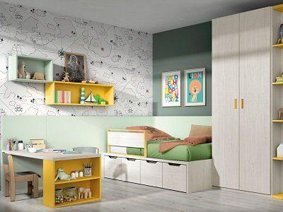Decoraciones Habitaciones Juveniles - Ref: DORJ074
