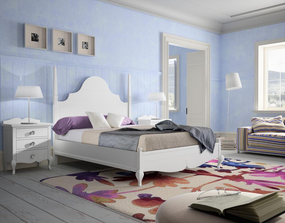 Dormitorio de Matrimonio de Diseño Moderno - Ref: DORMM013