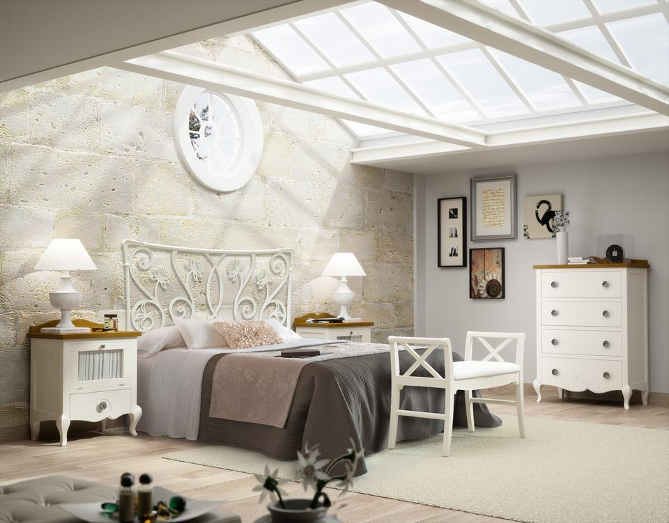 Dormitorios de Matrimonio de Diseño Moderno - Ref: DORMM014