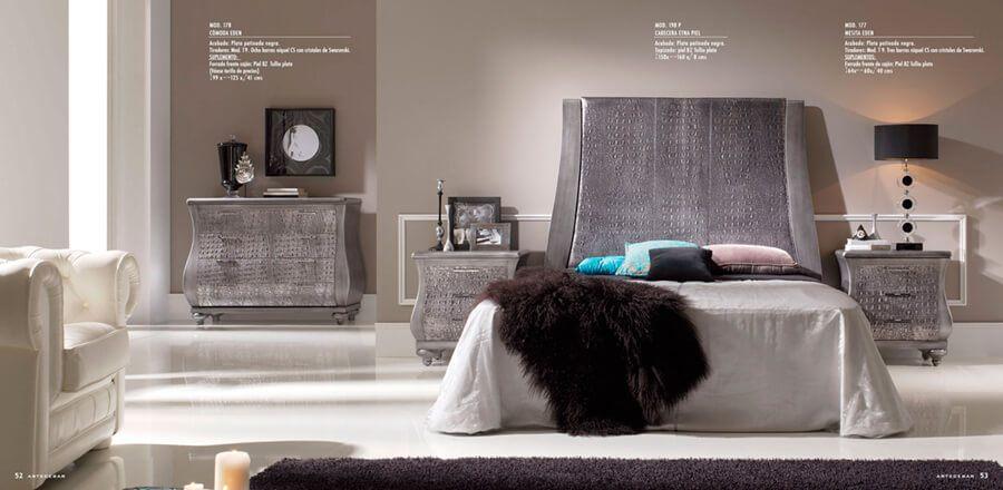 Habitación de Matrimonio de Diseño Moderno - Ref: DORMM031