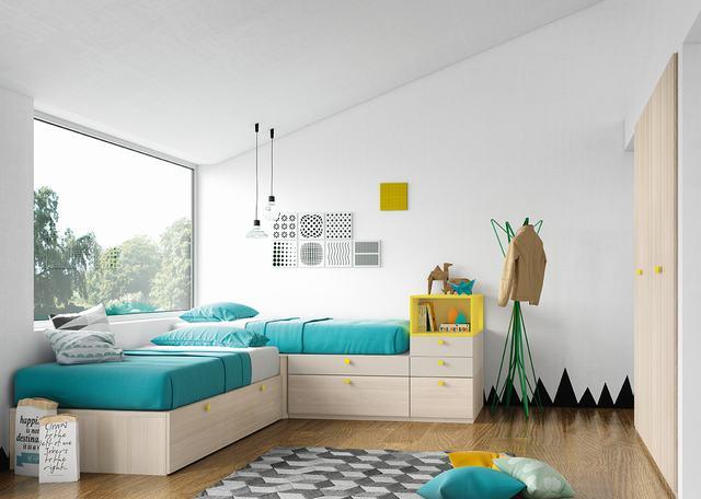 Habitacion Juvenil - Ref: DORJ006