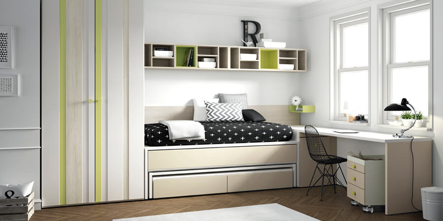Habitaciones Juveniles - Ref: DORJ041