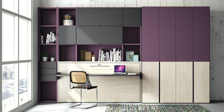 Libreria Juvenil Dormitorio Juvenil - Ref: DORJ032