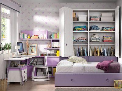 Libreria Juveniles Dormitorios Juveniles - Ref: DORJ076