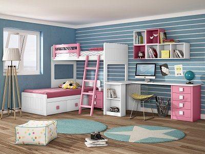 Literas Dormitorio Juvenil - Ref: DORJ055