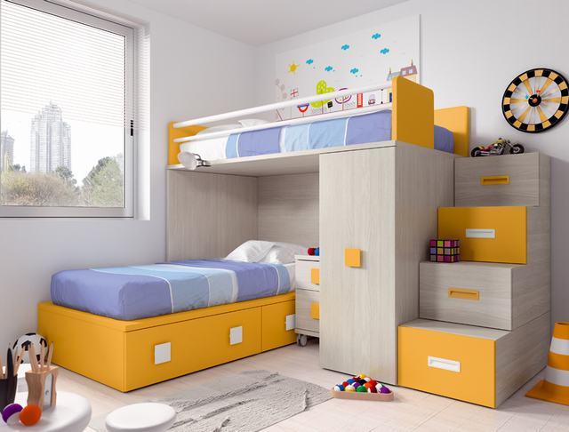 Literas Dormitorios Juveniles - Ref: DORJ004