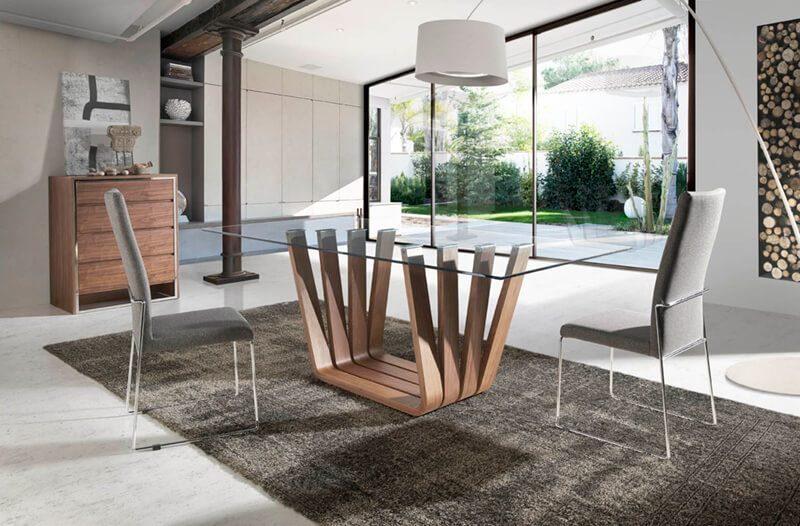 Mesa Comedor de Diseño - Ref: MECO08