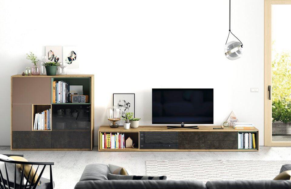 Muebles A Medida Salon - Ref: COM009