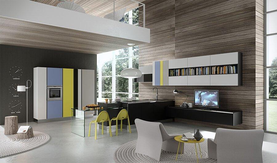Muebles de Cocina de Diseño - Ref: CO08