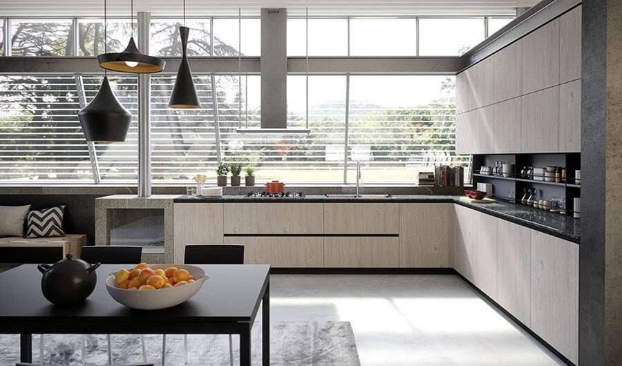 Muebles de Cocina de Diseño en Catálogo - Ref: CO20
