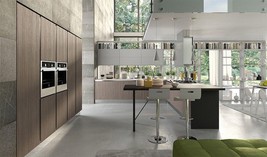 Muebles de Cocina moderna - Ref: CO09
