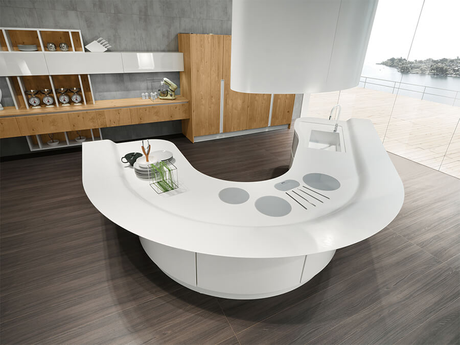 Muebles de Cocina moderna - Ref: CO33