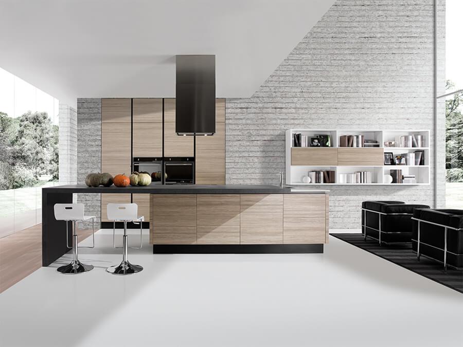 Muebles de Cocinas Modernas - Ref: CO12