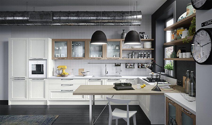 Muebles de Cocinas Modernas en Catálogo - Ref: CO24