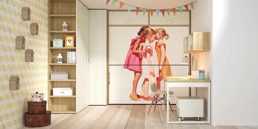 Muebles Habitacion Juvenil - Ref: DORJ040
