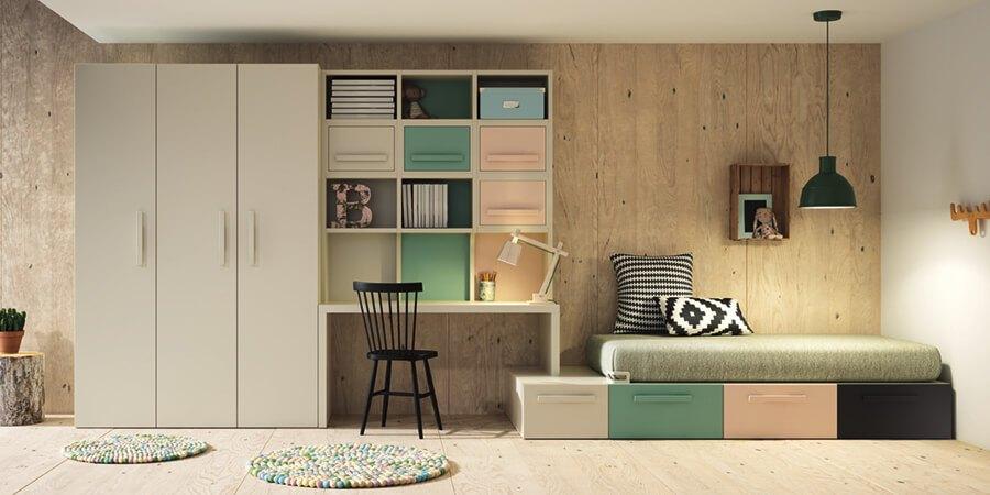 Muebles Juveniles - Ref: DORJ031