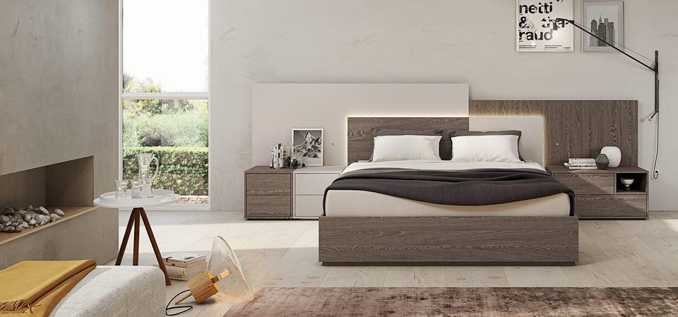 Muebles para Habitaciones de Matrimonio - Ref: DORMM021