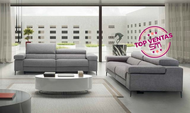 Sofá Moderno de Diseño - Ref: SOF016